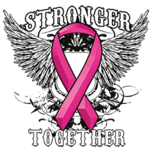 STRONGER TOGETHER PINK RIBBON