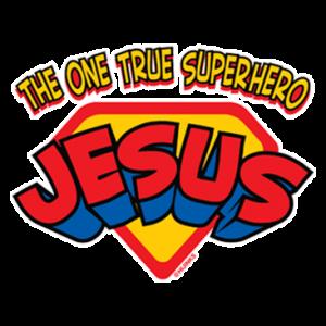 ONE TRUE SUPERHERO JESUS