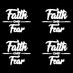 FAITH OVER FEAR SMALL - MASK