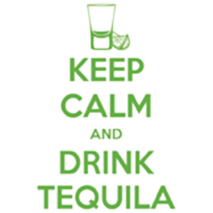 KEEP CALM DRINK TEQUILA NEON