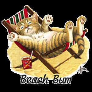 BEACH BUM-CAT