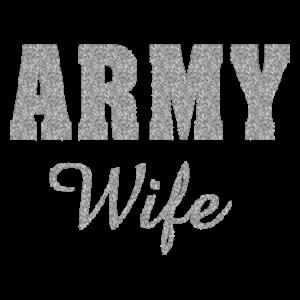 ARMY WIFE GLITTER