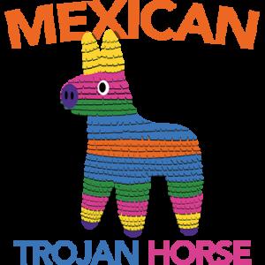 MEXICAN TROJAN HORSE PINATA