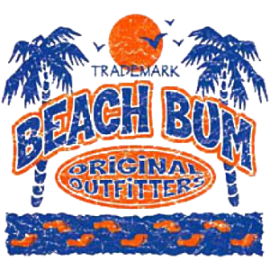 BEACH BUM OUT-PALM TREE  24
