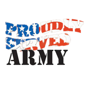 PROUDLY SERVED ARMY   19
