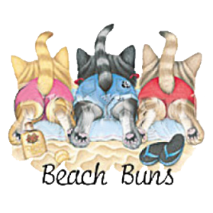 BEACH BUNS/KITTENS  (B) 11