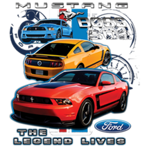 MUSTANG THE LEGEND LIVES