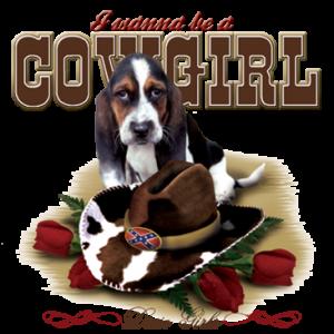 COWGIRL HOUND DOG