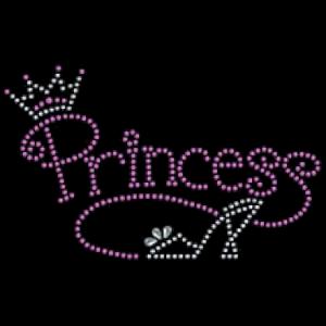 PRINCESS SHOE RHINESTUD