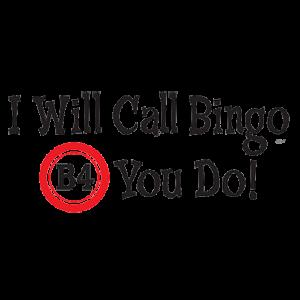 BINGO B4 YOU DO