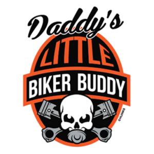 +DADDY'S LITTLE BIKER BUDDY