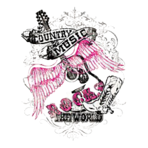 COUNTRY MUSIC ROCKS~GLITTER