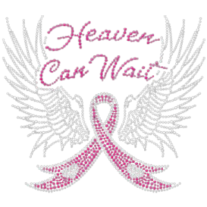 HEAVEN CAN WAIT RHINESTUDS