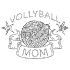 VOLLEYBALL MOM SEQUINS