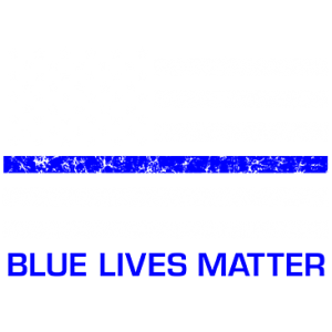 BLUE LIVES MATTER FLAG PKT