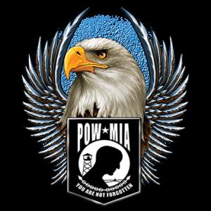 POW MIA EAGLE WINGS