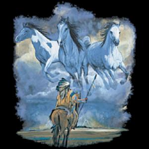 INDIAN W/ HORSES     15