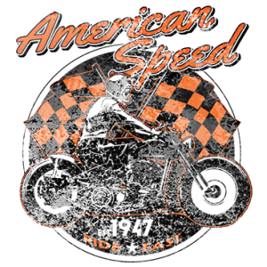 AMERICAN SPEED W/ SKELETON