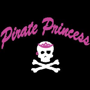 PIRATE PRINCESS - SKULL