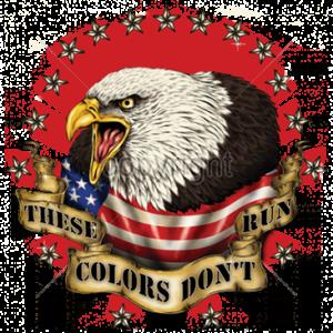 COLORS DON'T RUN EAGLE