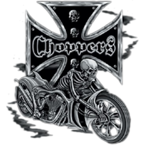 CHOPPERS-SKELETON/BIKE  15