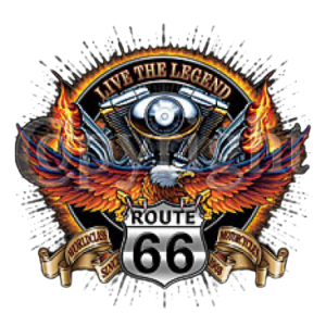 *ROUTE 66 EAGLE MOTORCYCLE
