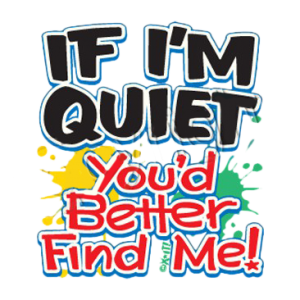 IF I'M QUIET