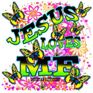 JESUS LOVES ME NEON
