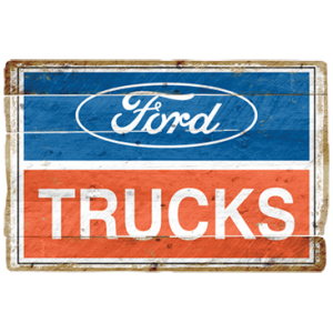 2001 FORD TRUCKS LOGO VINTAGE