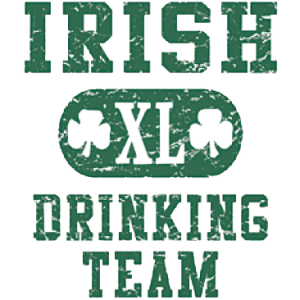 IRISH 'XL' DRINKING TEAM   15