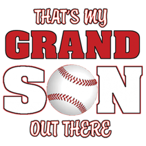 MY GRANDSON - BASEBALL