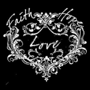 FAITH HOPE LOVE HEART