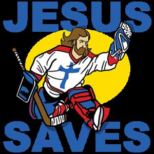 JESUS SAVES GOALIE JESUS