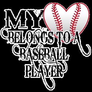 MY HEART BELONGS-BASEBALL