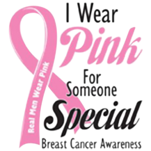 WEAR PINK FOR SOMEONE SPECIAL
