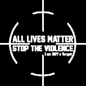 ALL LIVES MATTER WHITE