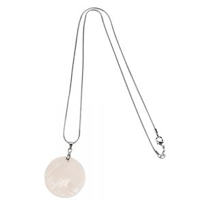 CIRCLE SHELL NECKLACE