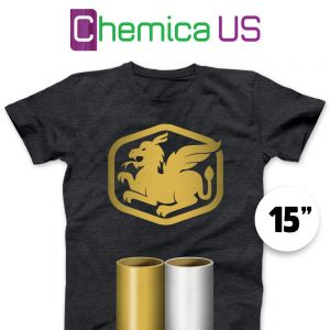 Chemica Metallic Vinyl By The Yard 14""
