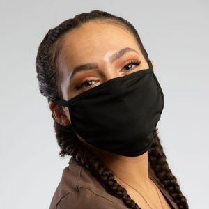 PREMIUM BLACK COTTON MASK-ADULT