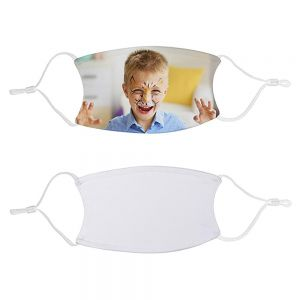 SUBLIMATION KIDS FACE MASK W FILTER