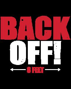 BACK OFF - MASK