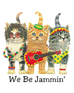 WE BE JAMMIN CATS  (Y) (F)