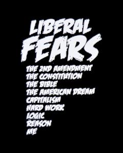 LIBERAL FEARS (LIST OF FEARS)