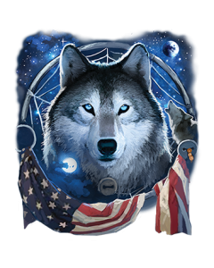 WOLF DREAM FLAG