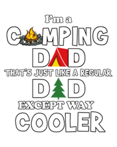 I'M A CAMPING DAD