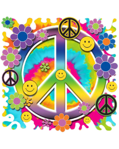 SMILEY PEACE SIGN