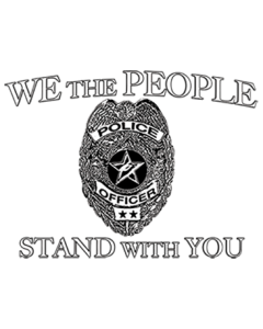 WE THE PEOPLE POLICE LOGO