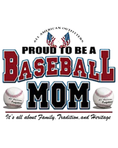 PROUD BASEBALL MOM   16