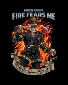 FIRE FEARS ME