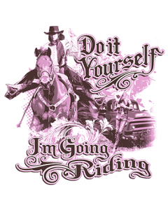 I'M GOING RIDING